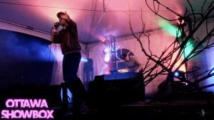 Cadence Weapon, Arboretum Festival, Ottawa, 2012, Ottawa Showbox, Partus Films