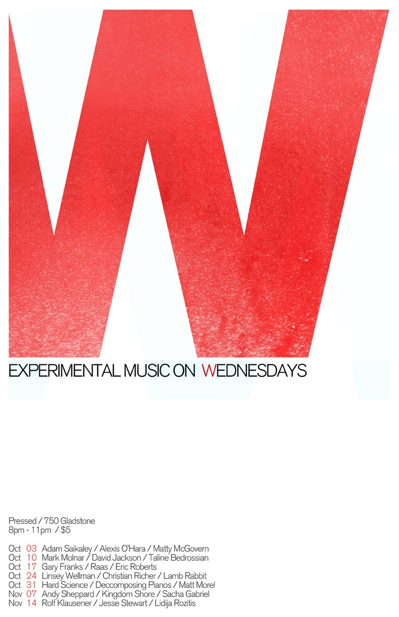 Experimental Music Wednesdays Season 2