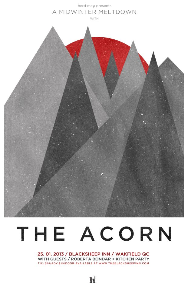 Herd Magazine, The Acorn, Ottawa, indie, music, Kitchen Party