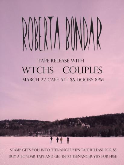 ottawa music, indie, Roberta Bondar, Couples, WTCHS, Cafe Alt