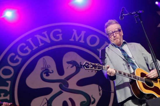 Dave King of the band Flogging Molly is seen here performing at the RBC Bluesfest in Ottawa on Friday, July 5th, 2013 ~ RBC Bluesfest Press Images PHOTO/Mark Horton