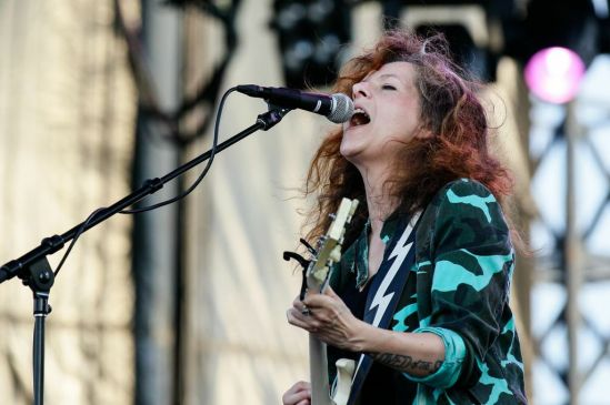 Neko Case performing at the RBC Bluesfest in Ottawa on Saturday, July 6th, 2013 ~ RBC Bluesfest Press Images PHOTO/Mark Horton