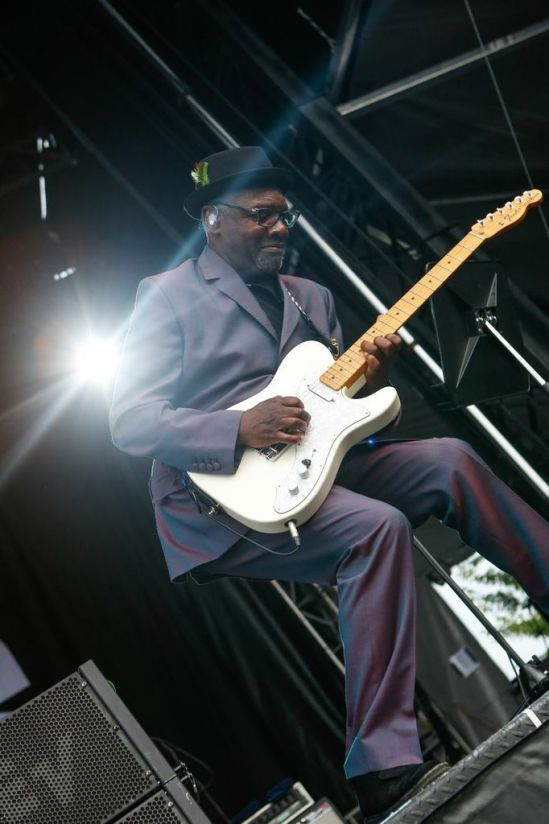 Lynval Golding of The Specials performing at the RBC Bluesfest in Ottawa on Monday, July 8th, 2013 ~ RBC Bluesfest Press Images PHOTO/Mark Horton