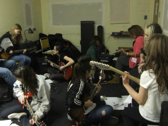 Ottawa Rock camp for girls, ORC4G