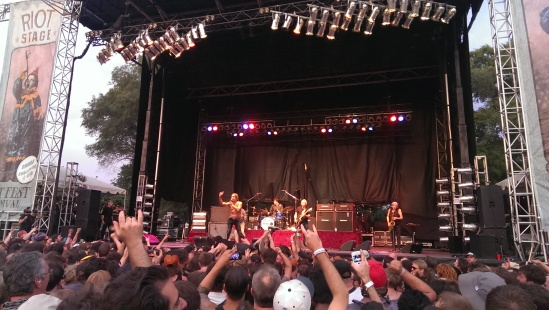 Iggy and the Stooges killing it at Riot Fest 2013 in Toronto.  The man is 66 for god's sake!