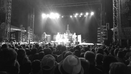 The Replacements!!! The picture is not the best, but their performance was!