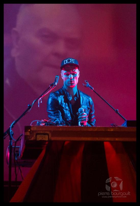 Rich Aucoin, 2013, Montreal, Osheaga, Corona Theatre