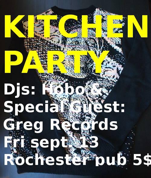 kitchen party, ottawa, music, dj,