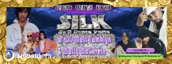 SILK Dance party, mugshots, matt tamblyn, Matty McGovern