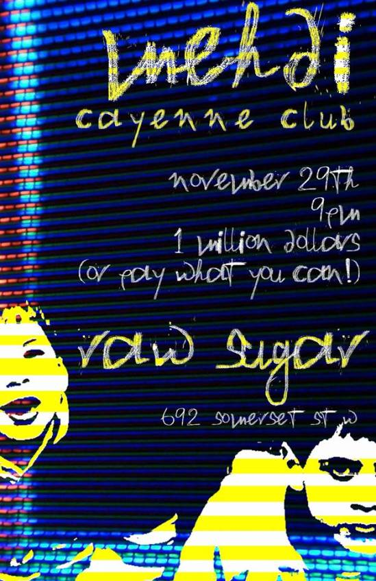 Ottawa, venues, concerts, entertainment, indie, music, raw sugar cafe,