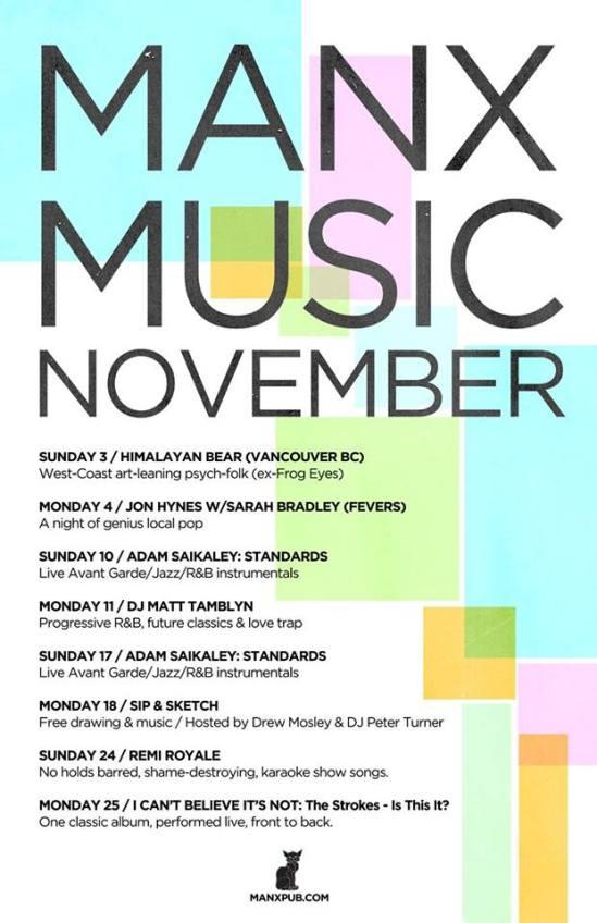 The Manx, Music, Ottawa, local, indie,