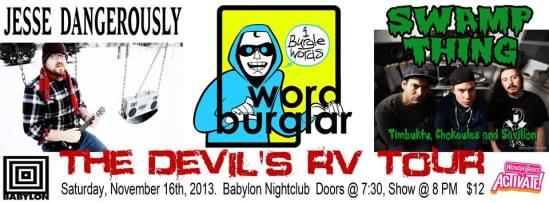Wordburlglar, Jesse Dangerously, Ottawa, Babylon, Hip Hop