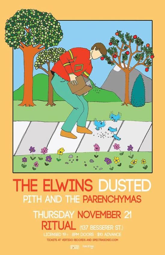 Elwins, dusted, ritual, ottawa