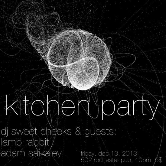 kitchen party, ottawa, dj, music