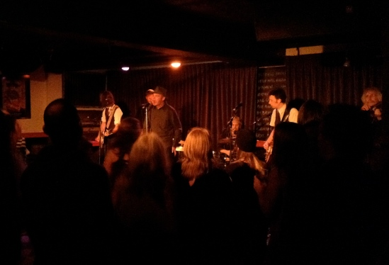 Fiftymen performed to a boisterous crowd at the Black Sheep Inn on Nov. 30, 2013.