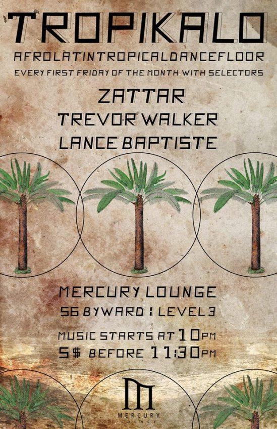 tropikalo, ottawa, mercury lounge