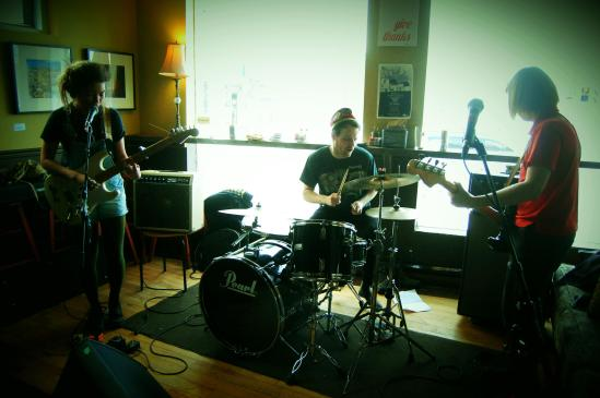 Organ Eyes playing at Pressed in Ottawa for the Wyrd Distro Launch.