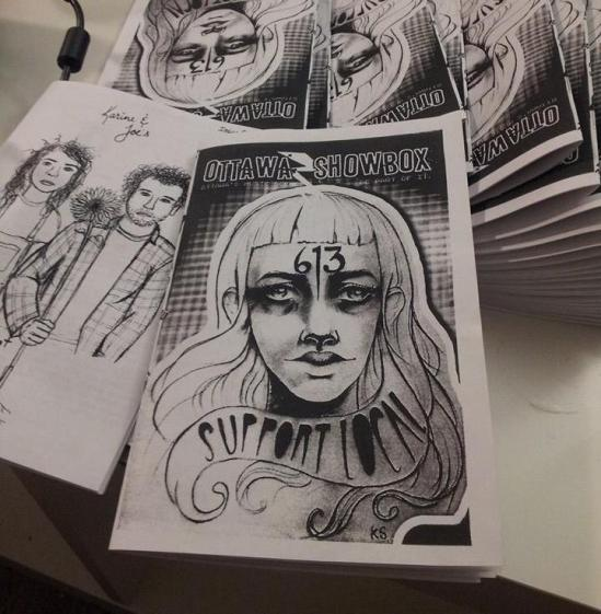 Two zines from the belly of the beast: Ottawa Showbox Issue 01 & Shit Just Got Rural