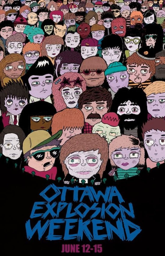 Ottawa explosion, punk, festivals, music, entertainment, summer, 2014