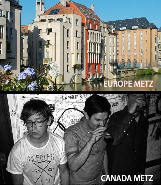 METZ, band, europe, ottawa explosion, weekend, sub pop